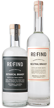 re:find Neutral Brandy and Botanical Brandy